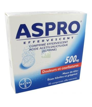 Aspro 500 mg Effervescent x 20