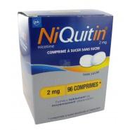 NiQuitin 2 mg Menthe Douce Comprimés à Sucer Sans Sucre x 96
