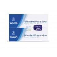Weleda Pâte Dentifrice Saline 2 x 75 ml