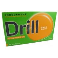 Drill Erysimum Pastilles Sans Sucre x 24