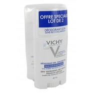 Vichy Déodorant Stick Sans Sel d'Aluminium 2 x 40 ml