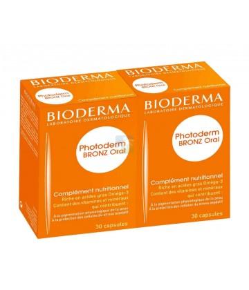 Bioderma Photoderm Bronz Oral Cure 2 x 30 capsules