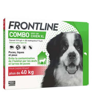 Frontline Combo Chien XL x 6