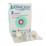 Lomexin 600 mg Capsule Molle Vaginale x 2