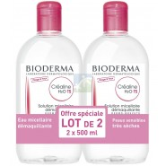 Bioderma Créaline TS H2O 2 x 500 ml