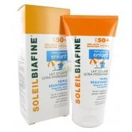 SoleilBiafine Lait Solaire Ultra-Hydratant Enfant Triple Résistance SPF50+ 150 ml
