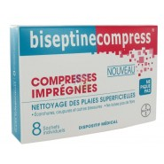 BiseptineCompress x 8