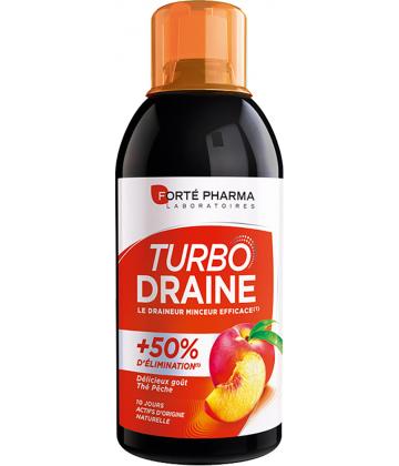 Forté Pharma Minceur TurboDraine Thé vert - pêche 500 ml