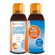 Forté Pharma Minceur TurboDraine Thé vert - Pêche 2 x 500 ml