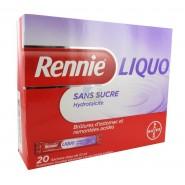 Rennie Liquo Sans sucre x 20
