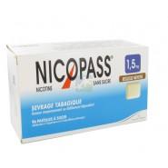 Nicopass 1,5 mg Pastilles Réglisse Menthe x 96