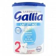 Gallia Calisma 2ème âge 800 g