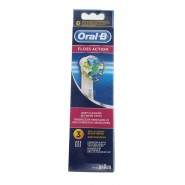 Oral-B Lot de 3 brossettes Floss Action (EB25)