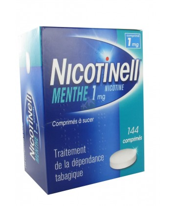Nicotinell Menthe 1 mg x 144