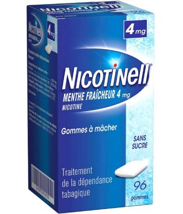 Nicotinell Menthe Fraîcheur 4 mg Sans Sucre x 96