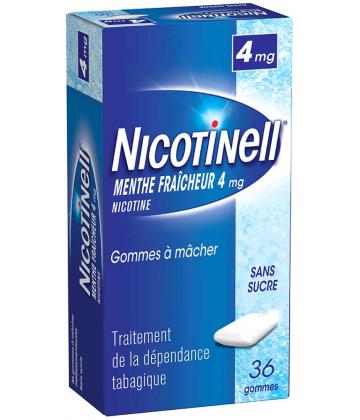 Nicotinell Menthe Fraîcheur 4 mg Sans Sucre x 36