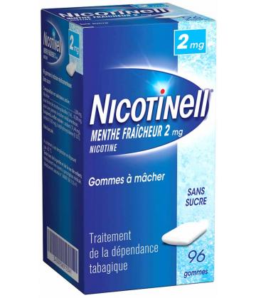 Nicotinell Menthe Fraîcheur 2 mg Sans Sucre x 96