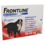 Frontline Spot On Chien XL x 4