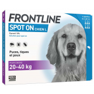 Frontline Spot On Chien L x 6