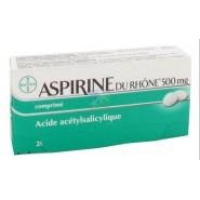 Aspirine du Rhône 500 mg x 20