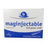 Maginjectable 0,8 pour cent x 12