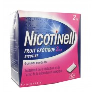 Nicotinell fruits exotiques 2 mg x 204