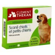 Clément Thékan Vermifuges Scanil Chiots & Petits Chiens x 6