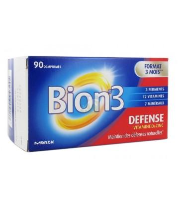 BION 3 - Défense Vitamine D & Zinc Adulte - 90 comprimés
