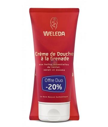 Weleda Crème de Douche à la Grenade 2 x 200 ml