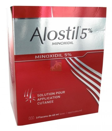 Alostil 5% Solution Flacons x 3