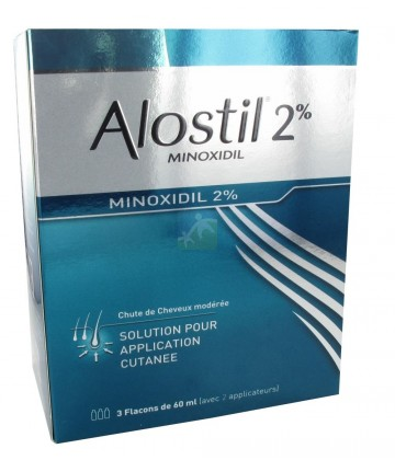 Alostil 2% Solution Flacons x 3