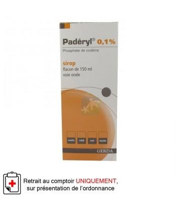 Paderyl 0,1% Sirop 150 ml
