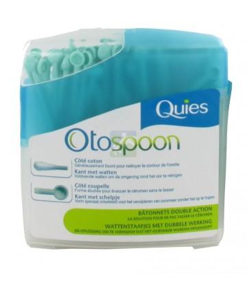 Quies Otospoon Bâtonnets Ouatés Double action x100 bâtonnets