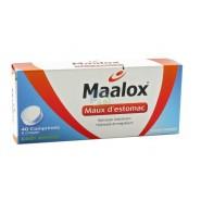 Maalox Maux d'Estomac Menthe x 40