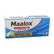 Maalox Maux d'Estomac Citron Sans Sucre x 40
