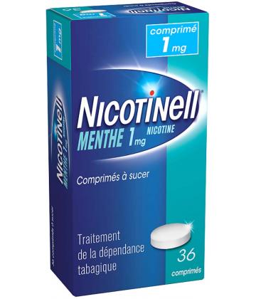 Nicotinell Menthe 1 mg x 36 Comprimés à sucer