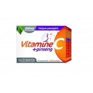 Nutrisanté vitamine C + Ginseng x 24