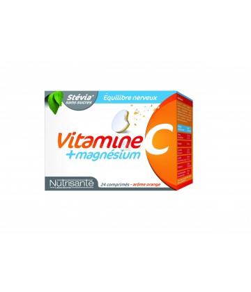 Nutrisanté Vitamine C + Magnésium x 24