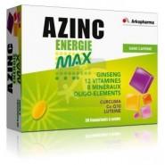Azinc Energie Max Sans Caféine x 30