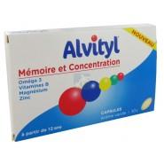 Alvityl Mémoire et Concentration Goût vanille x 30