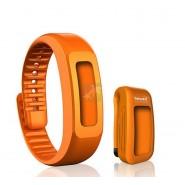 BewellConnect Bracelet Orange pour Capteur d'Activité + Clip Ceinture