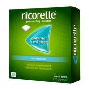 Nicorette 2 mg Menthe Glaciale Sans Sucre x 210